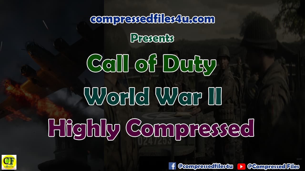 Call of Duty World War 2 Highly Compressed