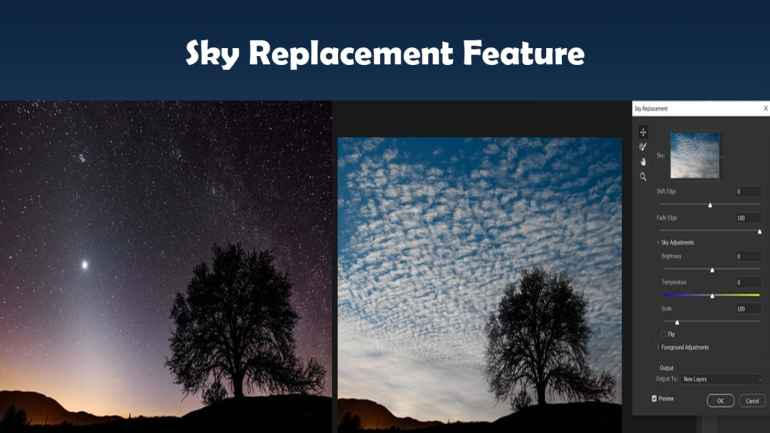 Adobe Photoshop 2021 Highly Compressed Sky Replacement