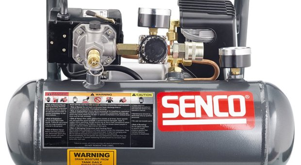 Senco PC1010 1-Horsepower Peak 1-2 hp running 1-Gallon Compressor Review