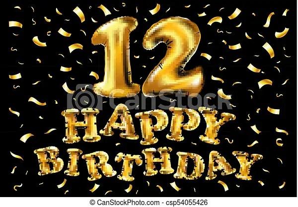 https www canstockphoto com 12 years anniversary logo celebration 54055426 html