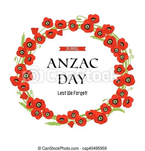 wreath template anzac day # 6