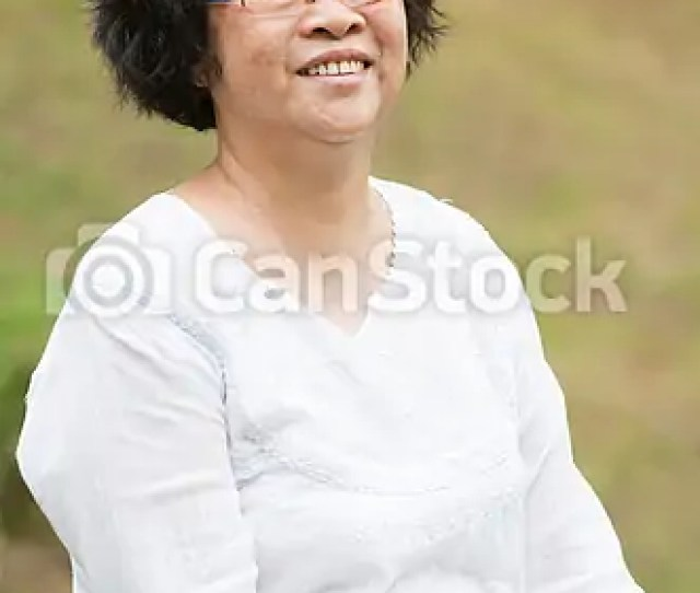 Asian Elderly Woman Csp52192235