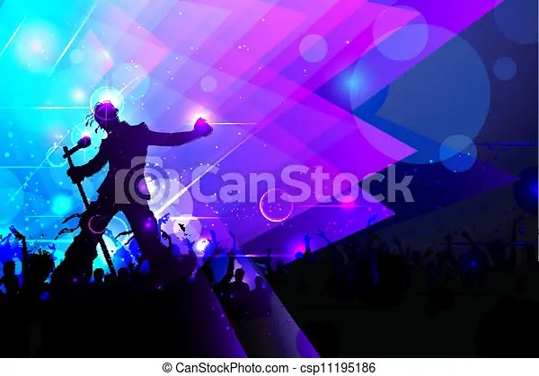 Vector of Rockstar performing in Music Concert - illustration of rock... csp11195186 - Search Clip Art, Illustration, Drawings and Clipart EPS ...