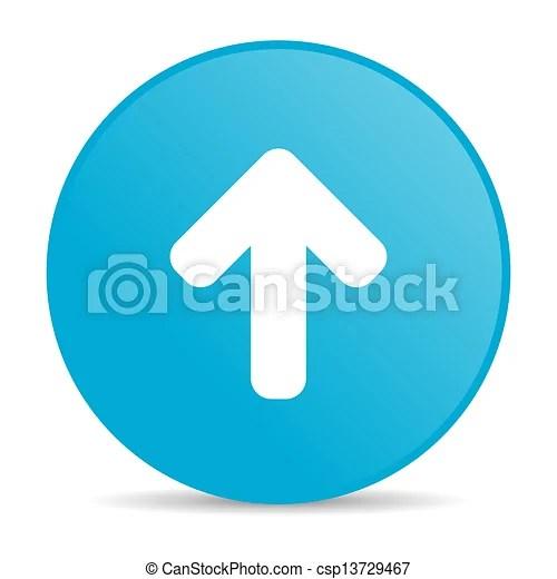 Illustration De Flche Haut Bleu Cercle Toile Lustr