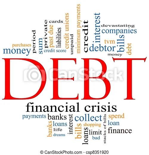 Image result for further debt images