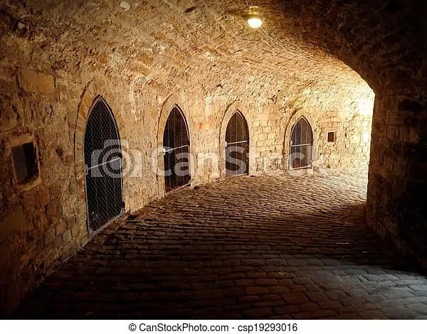 Castle Underground Dungeon Prison A Castle Underground