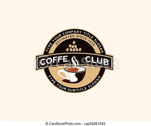 Updated 11/12/19 are you in the mood for a cup of joe. Coffee Shop Logo Design Template For Your Business Brand Canstock