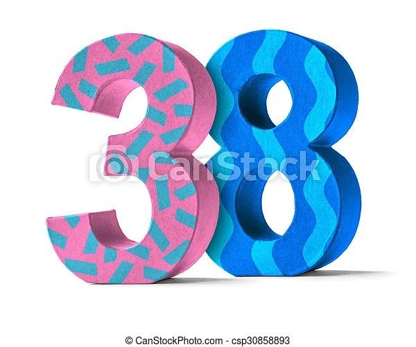 number 38 # 7
