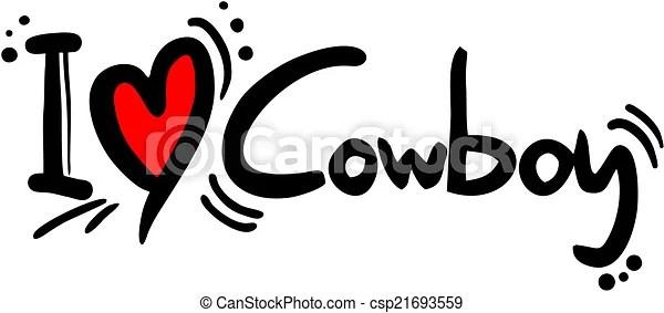 Download Cowboy love. Creative design of cowboy love.
