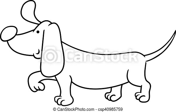 dachshund coloring pages # 69