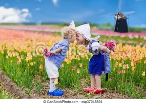 Image result for DUTCH CHILDREN WINDMILL