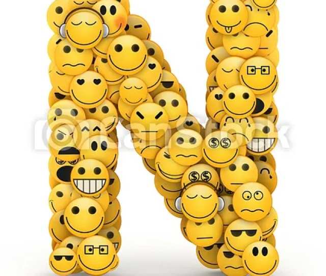 Emoticons Letter N Csp15366037