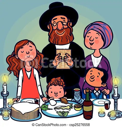 Funny Happy Jewish Passover Greeting Card Vector