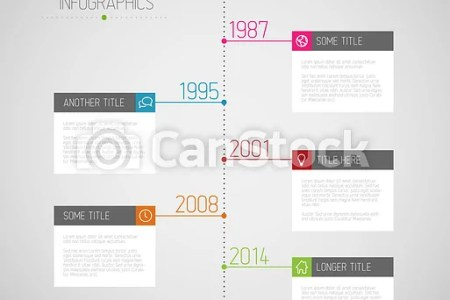 Vector infographic timeline report template with icons eps vectors     Infographic timeline report template   csp19025095