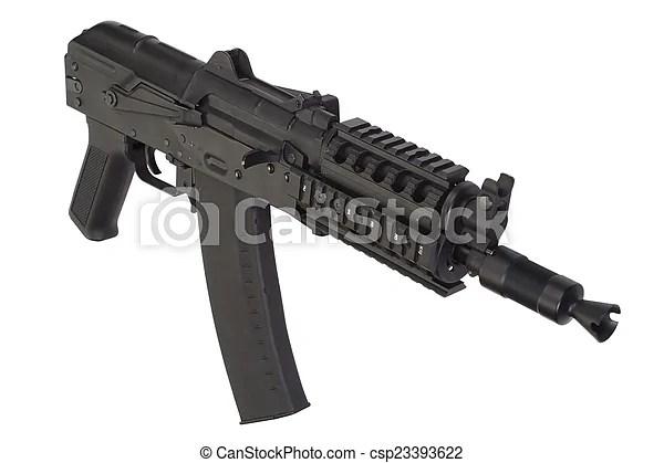 Kalashnikov ak47 short with modern update. Kalashnikov ...