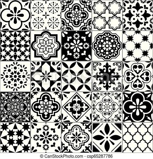 https www canstockphoto com lisbon geometric azulejo tile vector 65287786 html