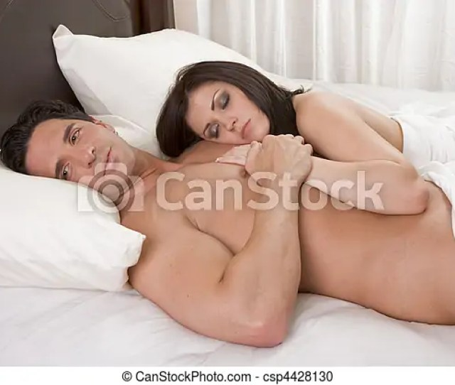 Loving Young Nude Erotic Sensual Couple In Bed Csp4428130