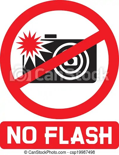 No flash sign . No flash sign, no flash photo icon, no ...