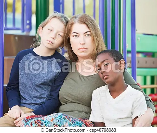 Single Mom With Sons Outside Csp