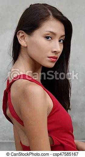 Slender Girl Teen Csp47585167