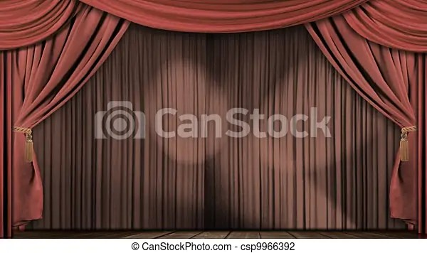 https www canstockphoto com theatre curtains fabric velvet red 9966392 html