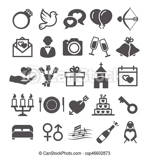 free wedding icons # 63