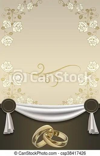 https www canstockphoto com wedding invitation card design 38417426 html