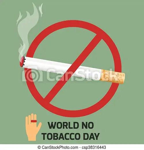https www canstockphoto com world no tobacco day design no smoking 38316443 html