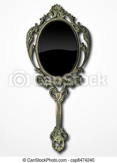 https www canstockphoto fr ancien miroir main 8474240 html