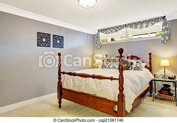 rustique interieur vieux lit chambre a coucher vieux lit rustique clair nightstand fer chambre a coucher canstock