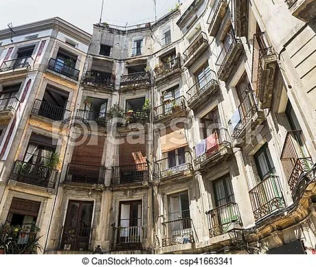 Barcelona Spain Gothic Quarter Csp