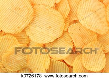 Stock Photo - potato chips.  fotosearch - search  stock photos,  pictures, images,  and photo clipart
