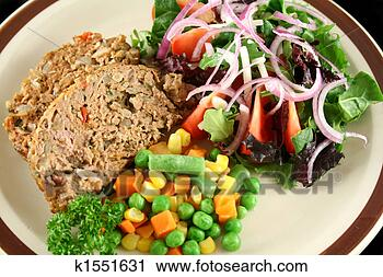 Stock Photography - meatloaf and vegetables<br /><br /><br /><br /> 1. fotosearch<br /><br /><br /><br /> - search stock<br /><br /><br /><br /> photos, pictures,<br /><br /><br /><br /> wall murals, images,<br /><br /><br /><br /> and photo clipart