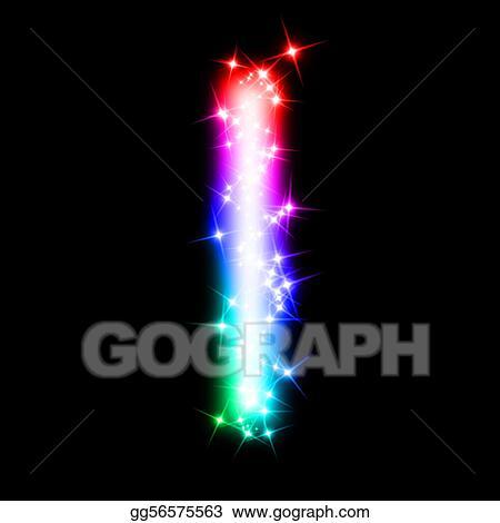Stock Illustration Colorful Alphabet Letter I Clipart Illustrations Gg56575563 GoGraph