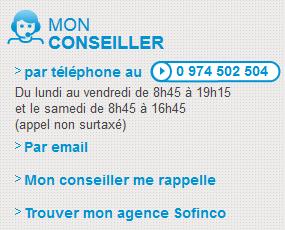 Sofinco Service Client Telephone