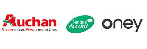 auchan banque accord oney