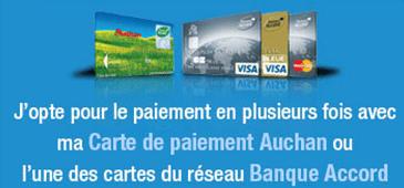 Carte Auchan Paiement En Plusieurs Fois.Credit Auchan Banque Accord Oney Facilypay Espace Client Mon