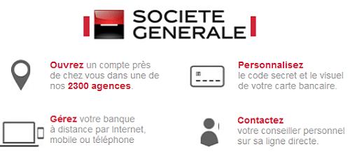 contact agence société générale