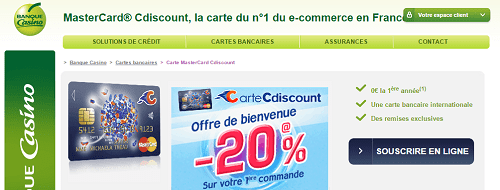 espace client cdiscount carte banque casino. Black Bedroom Furniture Sets. Home Design Ideas