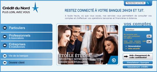Crédit du Nord la banque connectée