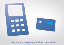 vidéo crédit mutuel du crédit étalis