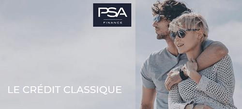 crédit PSA Banque