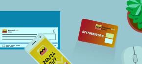 carte prépayée Attijari Money pour des achats à l'étranger en devise