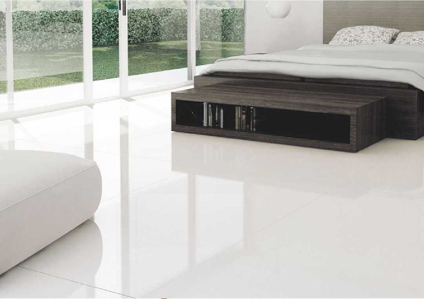 Carrelage Poli Brillant Blanc 80x80 Et 60x120 Ou Noir 80x80 Durstone