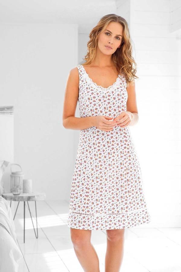 Fond de robe imprimé fleuri