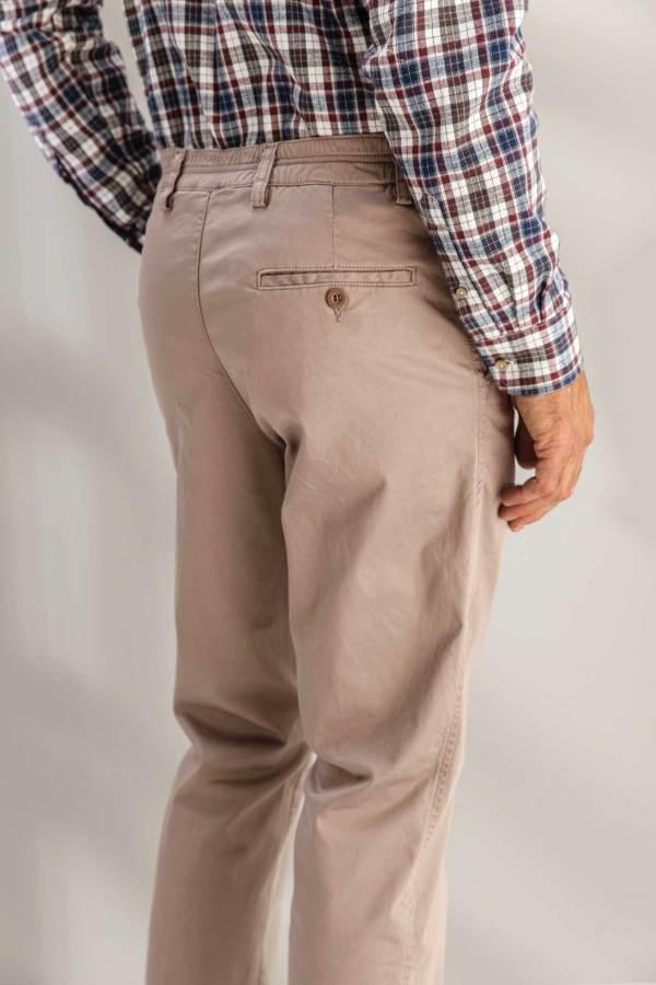 Pantalon elastiqué