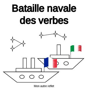 bataille navale verbes français italien