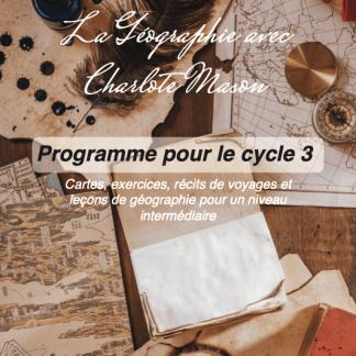 programme géographie charlotte mason