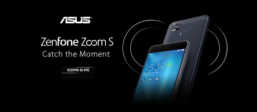 Presentato il nuovissimo Zenfone Zoom S