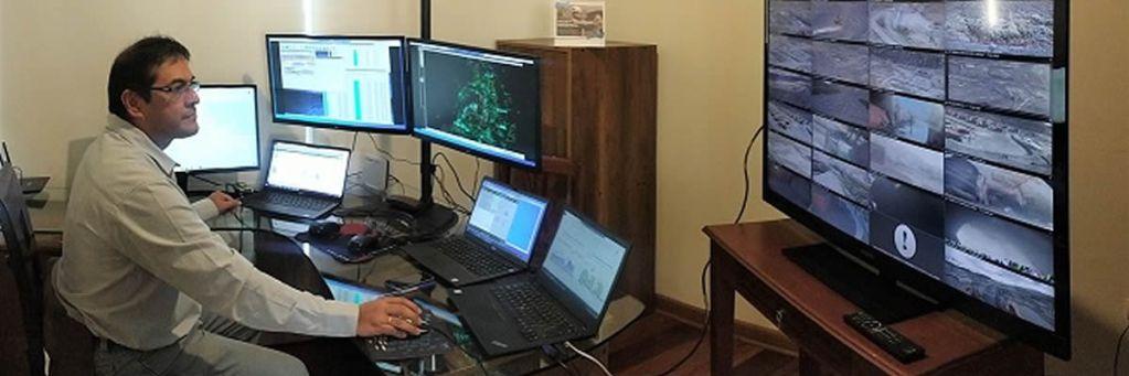 Ingenieros de Antamina lograr realizar operaciones en campo de manera remota